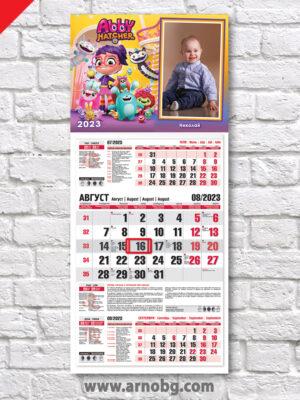 """Детски и семеен календар """"Пролетна приказка"""""""