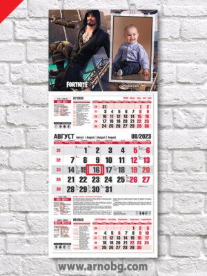 """Детски календар """"Фортнайт 11"""""""