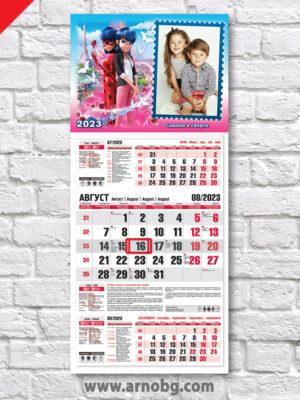 "Детски календар ""Калинката и Котаракът 1"""