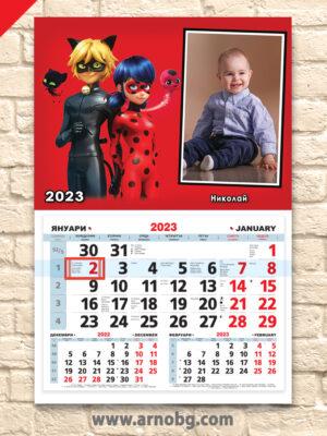 "Детски календар ""Калинката и Котаракът 3"""